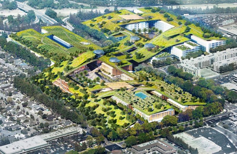 Califórnia ganha maior telhado verde do mundo (do tamanho de 13 campos de futebol)
